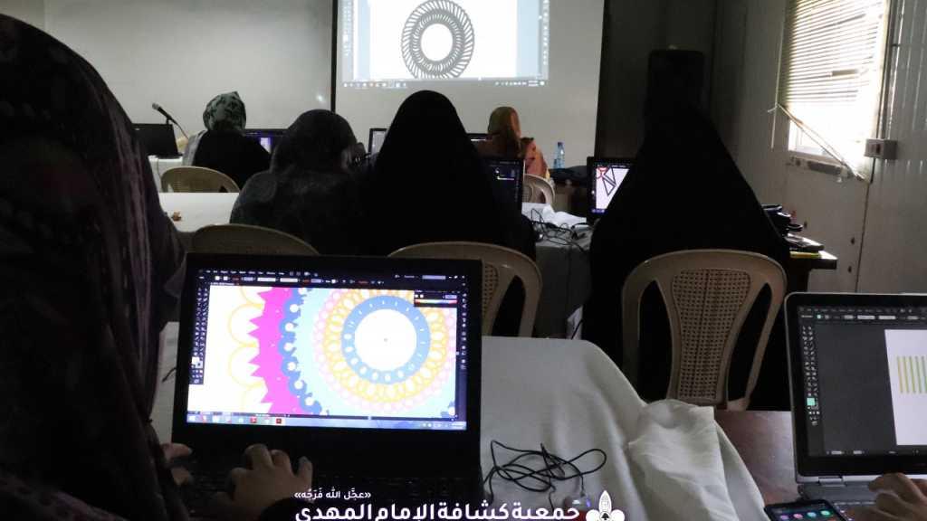 مهارات الـ Illustrator في الأسبوع الرابع من دورة أسس التصميم