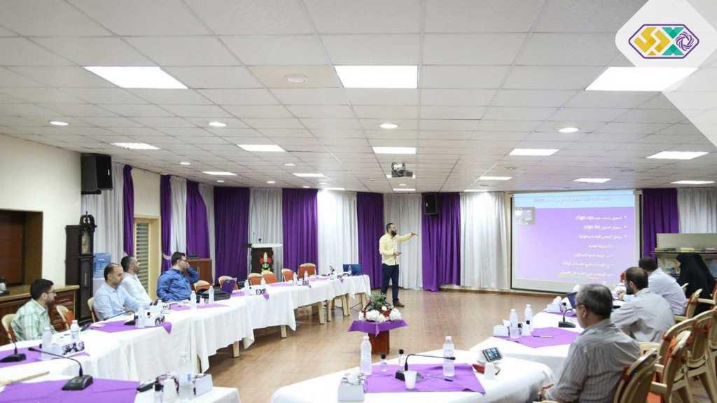 ورشة لأعضاء المفوضية العامة حول منصة الاتصالات المرئيَّة zoom