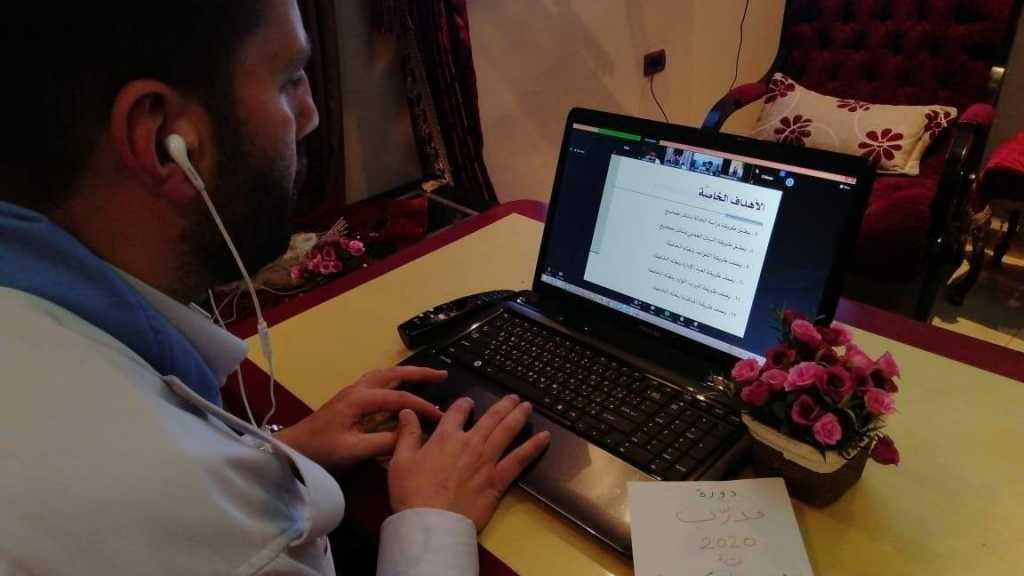 اليوم الخامس من دورة مُدرِّب في مفوضيّة جبل عامل الثانية