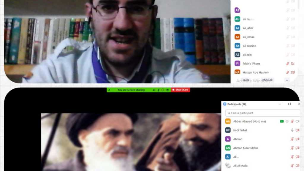 نشاط لجوالة قطاع الإقليم في ذكرى إنتصار الثورة الاسلامية