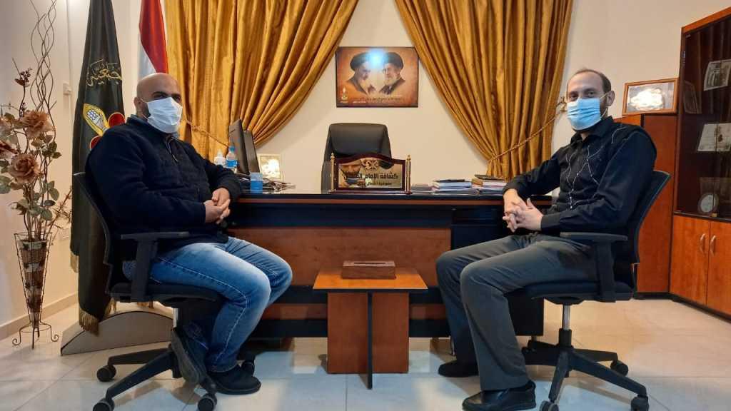 لقاء مع مراسل قناة المنار
