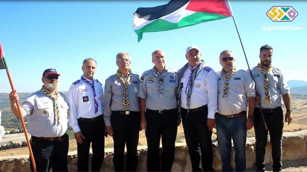 مفوضية جبل عامل الأولى تستقبل وفدًا من جمعية الكشاف الفلسطيني