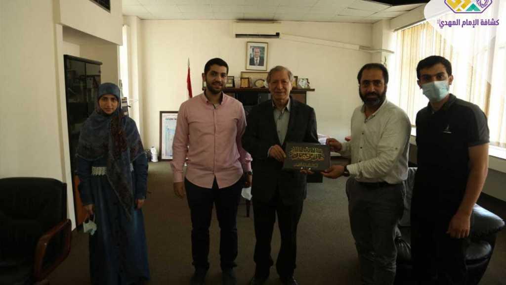 وفد من الوكالة اللبنانية للصحافة يزور رئيس المجلس الوطني للإعلام عبد الهادي محفوظ