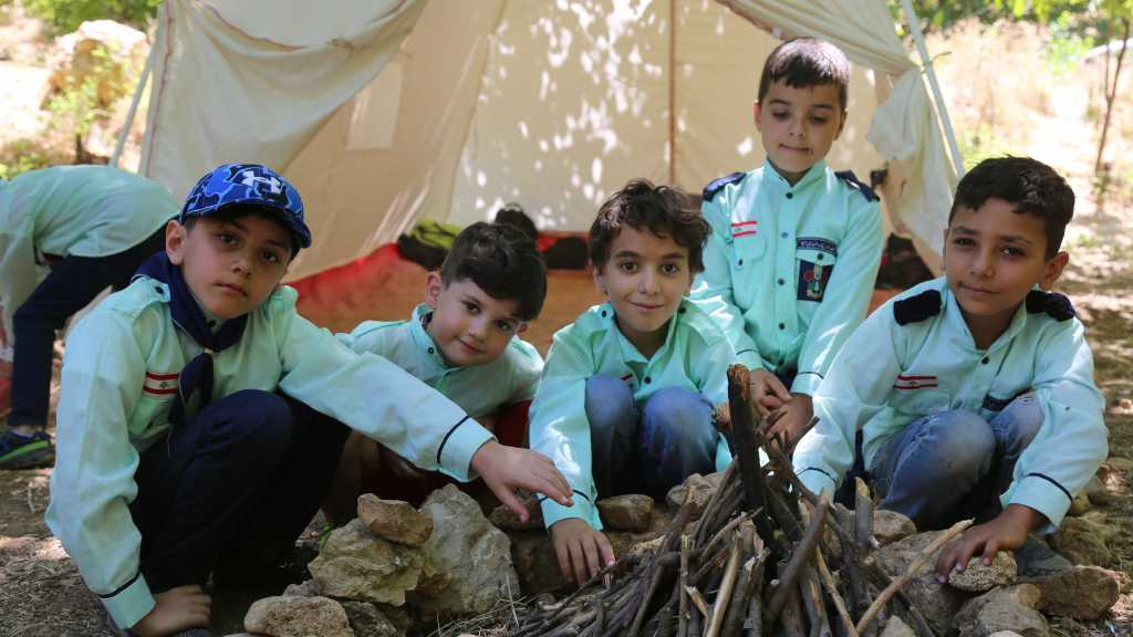 إستكمال فعاليات مخيم القطاع الشرقي على ضفاف نهر يحفوفا