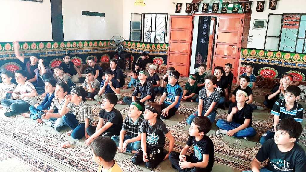 اليوم السادس من الإحياء العاشورائي في قطاع ريف القصير