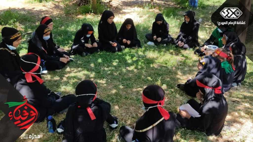 760 فتاة كشفية في قطاع بريتال تشارك في الاحياء