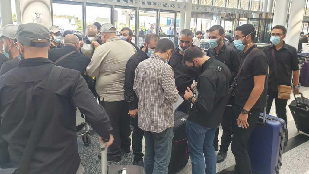 وفد خدّام زوار الإمام الحسين يُغادر بيروت متوجهًا الى كربلاء المقدسة