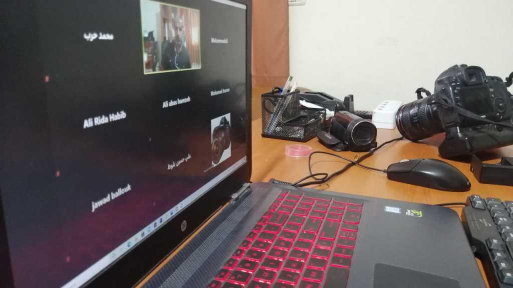 دورة التصوير الفوتوغرافي و الفيديو _مفوضية البقاع