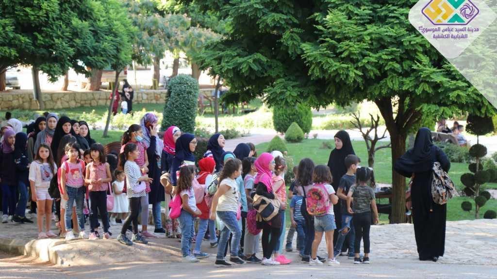 جمعية اجيال القرآن التي تعنى بتحفيظ القرآن الكريم وتعليمه للصغار في رحاب المدينة الكشفية.