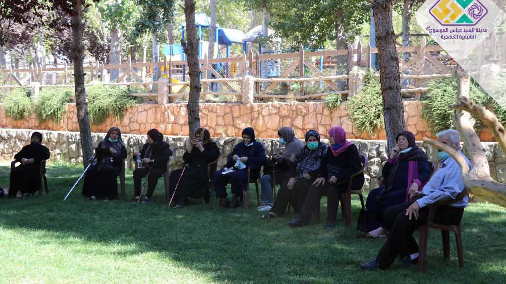 رحلة لدار الامام زين العابدين لرعاية المسنين الى المدينة